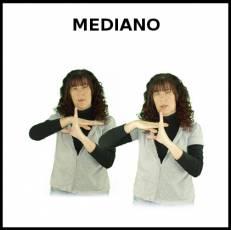 MEDIANO - Signo
