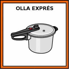 OLLA EXPRÉS - Pictograma (color)