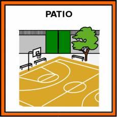 PATIO - Pictograma (color)