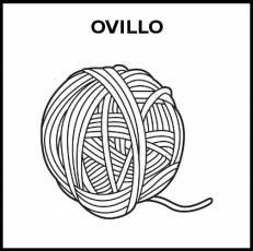 OVILLO - Pictograma (blanco y negro)