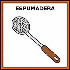 ESPUMADERA - Pictograma (color)