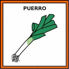 PUERRO - Pictograma (color)
