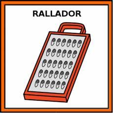 RALLADOR - Pictograma (color)
