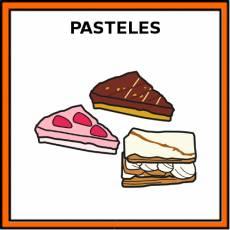 PASTELES - Pictograma (color)