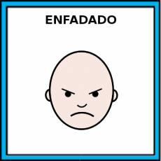 ENFADADO - Pictograma (color)