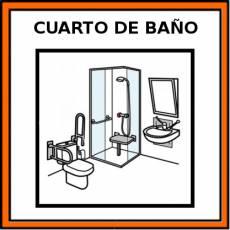 CUARTO DE BAÑO - Pictograma (color)