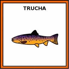 TRUCHA (ANIMAL) - Pictograma (color)