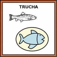 TRUCHA (ALIMENTO) - Pictograma (color)