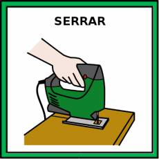 SERRAR - Pictograma (color)