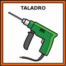 TALADRO - Pictograma (color)
