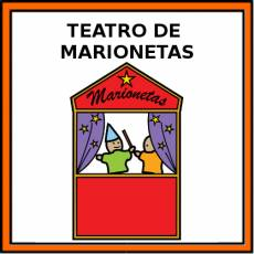 TEATRO DE MARIONETAS - Pictograma (color)