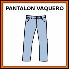 PANTALÓN VAQUERO - Pictograma (color)