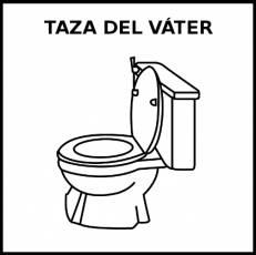 TAZA DEL VÁTER - Pictograma (blanco y negro)