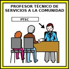 PROFESOR TÉCNICO DE SERVICIOS A LA COMUNIDAD - Pictograma (color)