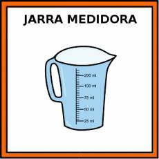 JARRA MEDIDORA - Pictograma (color)