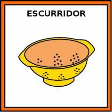 ESCURRIDOR - Pictograma (color)