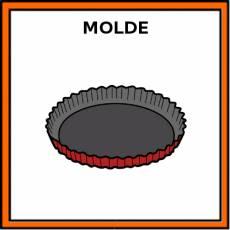 MOLDE (TARTALETA) - Pictograma (color)