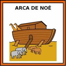 ARCA DE NOÉ - Pictograma (color)