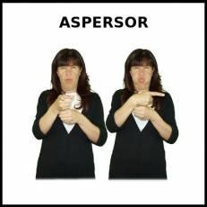 ASPERSOR - Signo