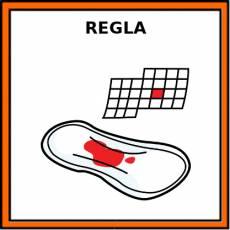 REGLA (MENSTRUACIÓN) - Pictograma (color)
