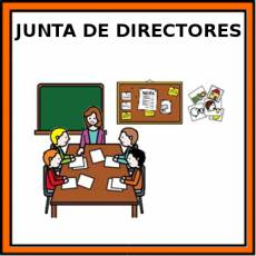 JUNTA DE DIRECTORES - Pictograma (color)