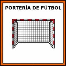 PORTERÍA DE FÚTBOL - Pictograma (color)