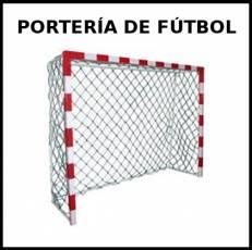 PORTERÍA DE FÚTBOL - Foto