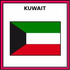 KUWAIT - Pictograma (color)