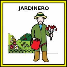 JARDINERO - Pictograma (color)