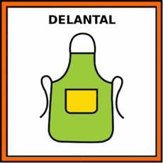 DELANTAL - Pictograma (color)