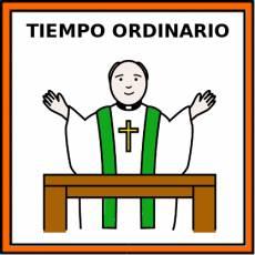 TIEMPO ORDINARIO - Pictograma (color)