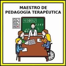 MAESTRO DE PEDAGOGÍA TERAPÉUTICA - Pictograma (color)