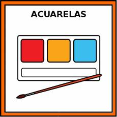ACUARELAS - Pictograma (color)