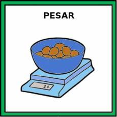 PESAR (INGREDIENTES) - Pictograma (color)