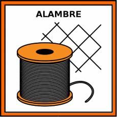 ALAMBRE - Pictograma (color)