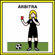 ÁRBITRA - Pictograma (color)