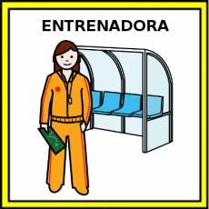 ENTRENADORA - Pictograma (color)