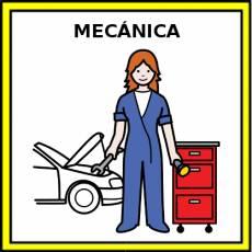 MECÁNICA - Pictograma (color)