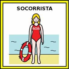 SOCORRISTA (MUJER) - Pictograma (color)