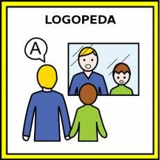LOGOPEDA (HOMBRE) - Pictograma (color)