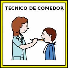 TÉCNICO DE COMEDOR (MUJER) - Pictograma (color)