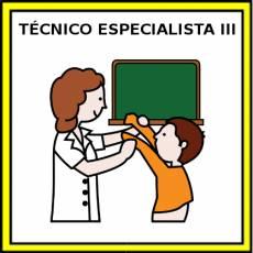 TÉCNICO ESPECIALISTA III (MUJER) - Pictograma (color)