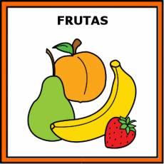 FRUTAS - Pictograma (color)