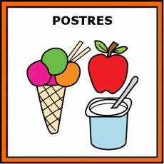 POSTRES - Pictograma (color)