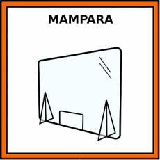 MAMPARA - Pictograma (color)