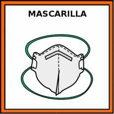 MASCARILLA (FFP2 SIN VÁLVULA) - Pictograma (color)