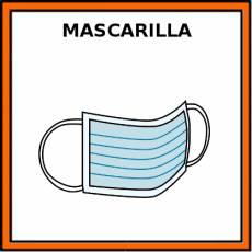 MASCARILLA (QUIRÚRGICA) - Pictograma (color)