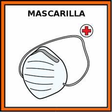 MASCARILLA - Pictograma (color)