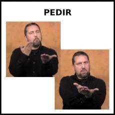 PEDIR - Signo