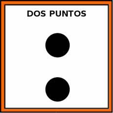 DOS PUNTOS - Pictograma (color)